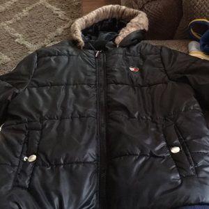a winter jacket